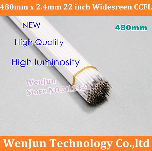 20pcs/lot Free Shipping new 480MMx2.4mm 22 inch wide sreen CCFL light 480mm LCD CCFL lamp backlight(China (Mainland))