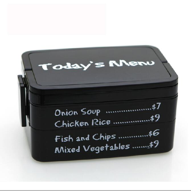 Reçine pp öğle yemeği kutusu piknik mutfak yemek çubukları sofra