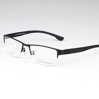 brand designer sports prescription eyeglasses for men fashion optical myopia  half rim frame eyewear  eye glasses new P8331