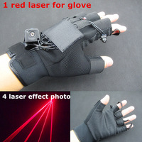 new laser gloves 1 pcs 650nm 100mw red laser for glove free shipping