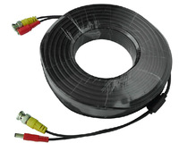 New DC 50m Power Extension BNC Video Cable for CCTV Security Home Surveillance Tiny Camera