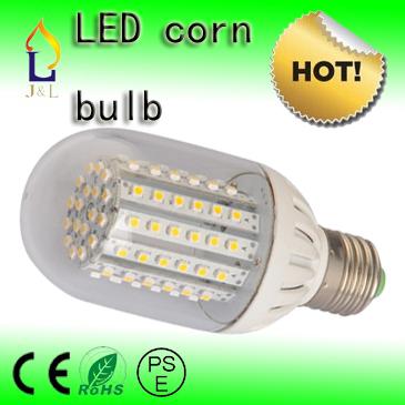 Free Shipping led lamp NEW E27 led corn bubls Led 5.5w 3528SMD White/ Warm White(China (Mainland))