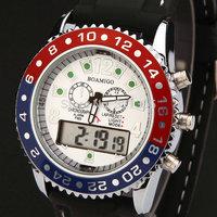 Watches Men Women luxury brand BOAMIGO Sports Military Watch Dual time Digital Analog Quartz Watches Wristwatches Relogio 503