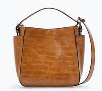 2015 Designer Vintage Drawstring Bucket Shoulder Bag Moshino bag Mos bag Women Messenger Bags Letter SpongeBob Leather Handbags