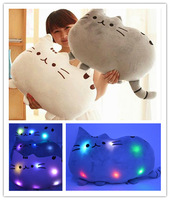 Free Shipping shine Plush Toy Stuffed Animal Doll Animal toy Pusheen Cat For Girl Kid Kawaii Cute Cushion Brinquedos