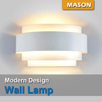 Design Simplicity Square hotels  project lamp bedroom bedside lamp lights E27 3W LED bulb corridor wall lamp sconce