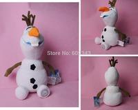 30cm Frozen Olaf Snowman Baby Soft Baby Toy For Child Kids Movie Boneca Brinquedos Princess Girl Stuffed Animal Plush Dolls