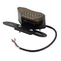 License Plate Integrated Light LED Motorcycle Quad ATV Tail Turn Signal Brake