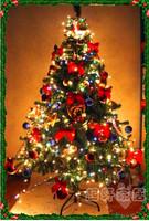 Free shipping 2.4M 240CM Christmas tree Christmas Decoration Supplies