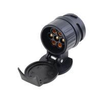 Tow Bar Socket Car Trailer Truck 13 Pin to 7 Pin Plug Adapter Converter