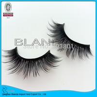UPS Free Shipping 50pair/lot Marlliss Black Natural Long False Eyelashes Looking Good Beautiful Eyelashes Mink Lashes