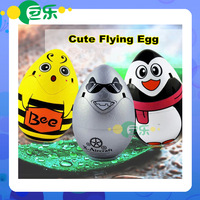 Hot Sale RC Flying Egg Quadcopter 4 Channels Ready-to-Go Cute Remote Control Egg Helicopter UFO Toys for Children Free Shipping