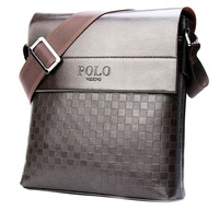 New collection fashion men bags, polo videng men casual leather squares messenger bag,high quality man brand small crossbody bag