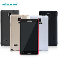 Nillkin Frosted Case For Samsung galaxy note 4 Slim Hard dull polish Cases For Samsung galaxy note 4 N9100 with screen film