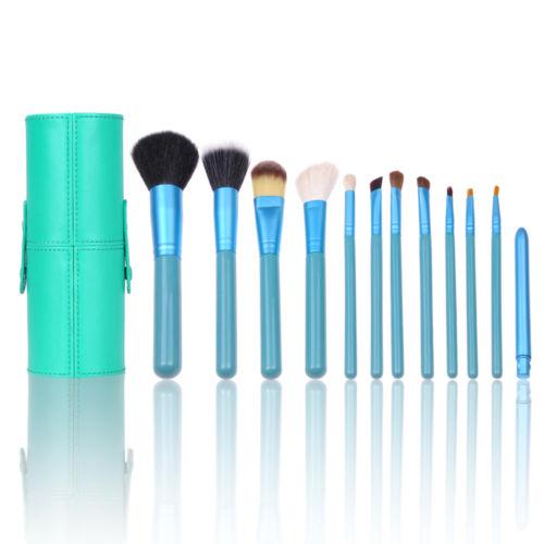 Pro 12pcs Turquoise Makeup