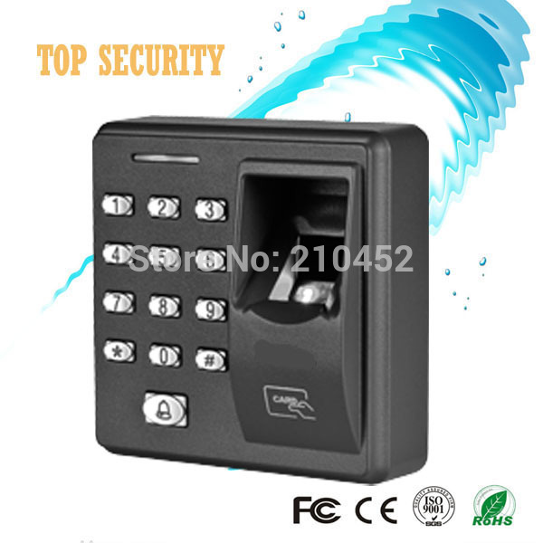 Free shipping fingerprint access control system X7 standalone card and fingerprint door access control system(China (Mainland))