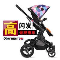 Ubest baby stroller baby car baby stroller buggiest trolley light folding