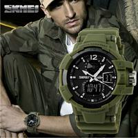 Fashion Outdoor Men Boy Sports Watches SKMEI Brand LED Digital Quartz Multifunction Waterproof Military Watch Dress Wristwatches