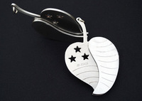 Wholesale / Retail Outdoor Steel Key Knife Fruit knife Can hang Portable Gift Knife Collection ZF279