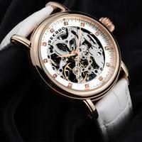 Fashion belts cut women's watch automatic mechanical watch retro authentic gold-plated waterproof watch Lady