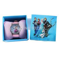 children's Kids Girls Party Wristwatches frozen watch set Cartoon frozen watch Wristwatches WITH BOX &GIFT box