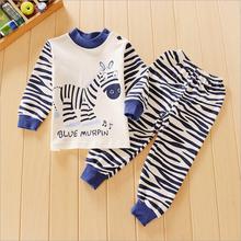 clothes clothing sets suits kids pajamas children 2 piece sleepwear cartoon Shirt Pants 2Pcs Retail 3