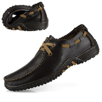 2014 new Summer genuine leather soft leather first layer of cowhide Moccasins male fashion casual leather soft outsole shoes