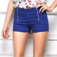 Hot Sale Summer Women Shorts Straight Fit Zipper Designed Short Pants Plus Size Women Clothes S-XL