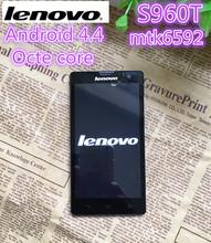 Original Lenovo S960 t MTK6592 Octa Core 1.9GHz 13.0MP 3G del teléfono móvil 2GB RAM Android 4.4 Desbloquear teléfono inteligente WCDMA Dual SIM(China (Mainland))