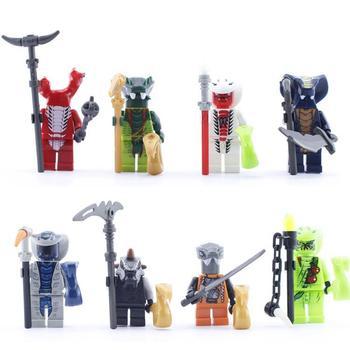 Ninjago snake man super heroes building blocks jay kai cole minifigures bricks mini figures assemblage toys