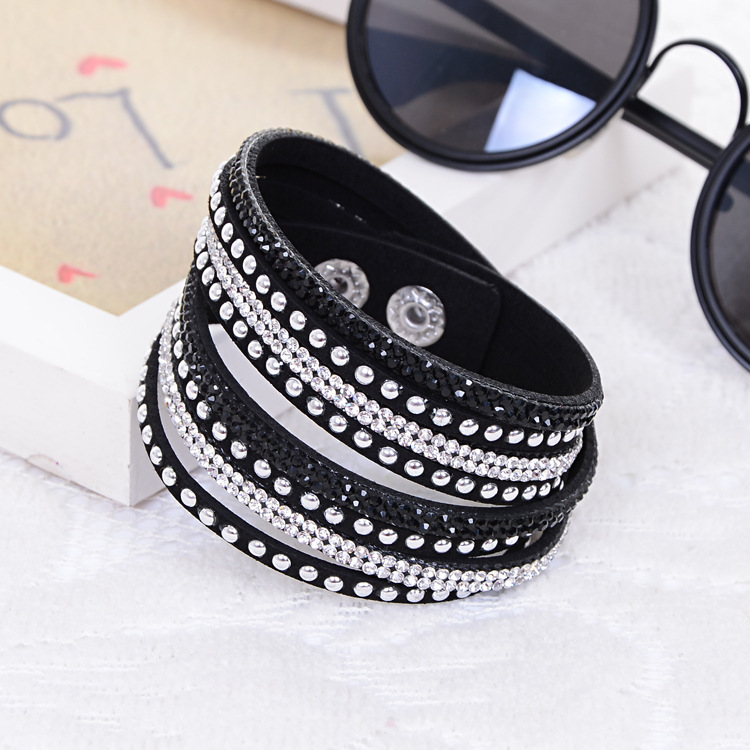 2014 Hot Selling New Women s Red Fashion Leather Bracelets For women Christmas Gifts New Year