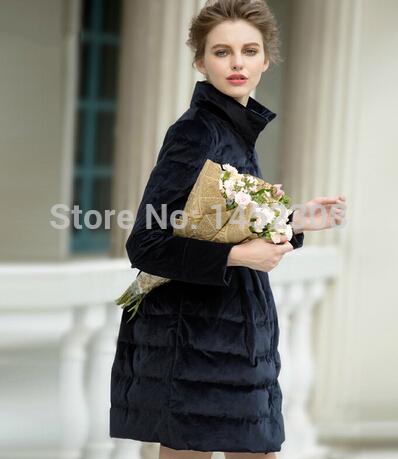 Женские пуховики, Куртки WAQIA slim pleuche женские куртки
