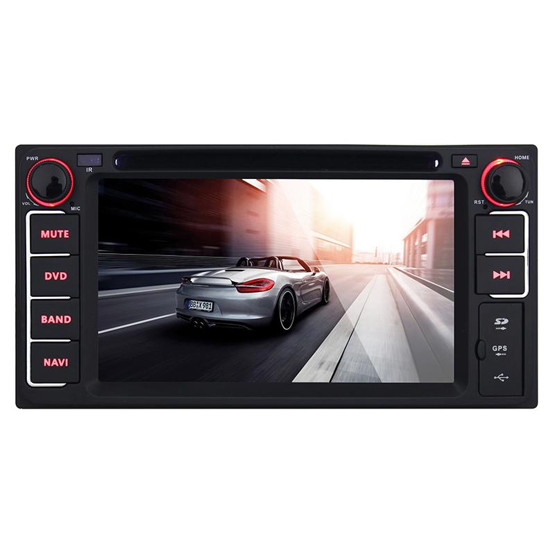 Toyota Corolla/RAV4/Yaris/Sequoia/Prado/Tundra/Highlander Special Car DVD Player Android 4.4+GPS+BT+FM/AM Radio+RDS+USB/TF+WIFI(China (Mainland))