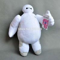 "Free Shipping Hot Sale Christmas Big Hero 6 Baymax Stuffed Plush Robot Doll Large Ultra Soft Baby Classic Toys 12"""