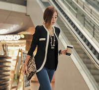 2014 new women Plus Crease-Resistant Suit Fashion Casual One Button Blazers Slim Foldable Jackets Cardigan Coat  1004_1