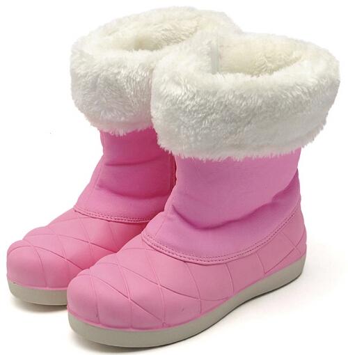 Mesdames nouvelle 2014 hiver, épaississement bottes de neige imperméable à l'eau chaude plat. solide. bottes femme chaussures à talons épais ankleboots coton thermique