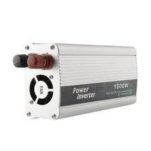 1500 Вт 1500 Вт авто 12 в постоянного тока в переменный 220 V инвертор зарядное бесплатная доставка