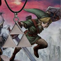 The Legend Of Zelda Zelda Triforce Necklace Hollow Triangle Necklace