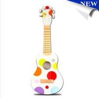 "Retail 21"" Acoustic Basswood Hawaii 4 String Ukulele Guitar Musical Instrument Children Kids Boys girls gift"