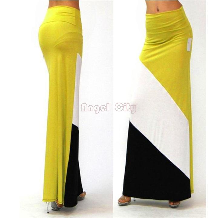 Chandails de moins de jupes longues