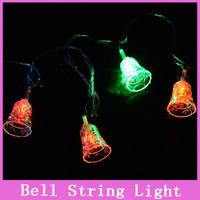 1x Multi-color 5M 28 LED Bell String Light Fairy Lights Xmas Party New Year Wedding Christmas Decoration 220V EU Plug