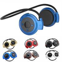 Brand New Universal Foldable Sports Neckband Bluetooth Stereo Headset Earphone Wireless Headphone Handsfree Music Headphones