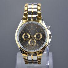 Fashion Quartz watches Men Business Watch Three Colors Luxury watches Man full Steel watch Male relogio