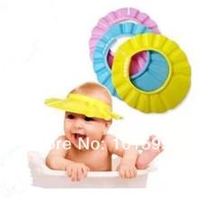 New Shampoo Shower Bathing Bath Protect Baby Safe Cap Hat Waterproof  For Baby Children Kids Eye Ear Mounth(China (Mainland))
