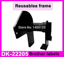5 x rolls ETICHETTE BROTHER DK22205 DK-22205 62mm X 30.48M Continuo Termico QL-560 QL-570 QL-700