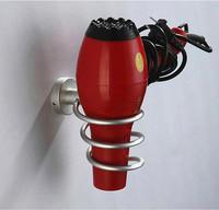 Hair Dryer Holder Wall Hang Aluminum Shelf Innovative Items Bathroom Accessories Set Novelty Households Rack