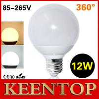 1Pcs E27 SMD 5730 12W 360 Degree LED Lamps AC 85V 110V 220V Crystal Chandelier LED Ball Bulb Christmas Solar Light For Night R80