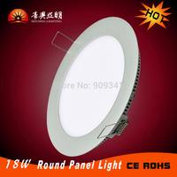 2015  Hot Kitchen livingroom AC110V 240V LED Panel Light 18W  LED Ceiling Recessed Slim Downlight  SMD2835  home Indoor Lighting