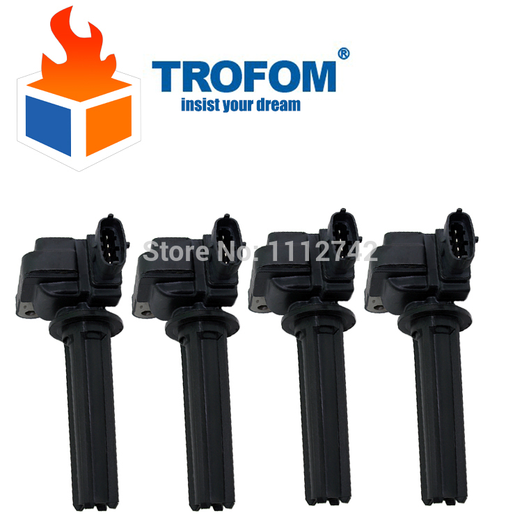 4 pcs Auto Ignition Coil For SAAB 9-3 (YS3F) MITSUBISHI 1.8 2.0 Opel Signum Vectra Vauxhall 12787707 H6T60271 HAS-004-05 DMB1103(China (Mainland))
