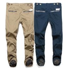 Mens pantalones hombres pantalones 2014 del deporte al aire libre , pantalones stright marca famosos hombres pantalones de carga(China (Mainland))